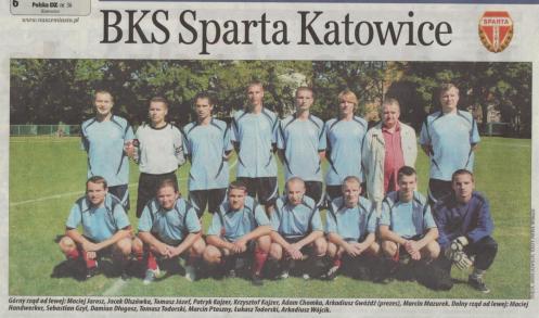 Sparta na AKSie Mikołów